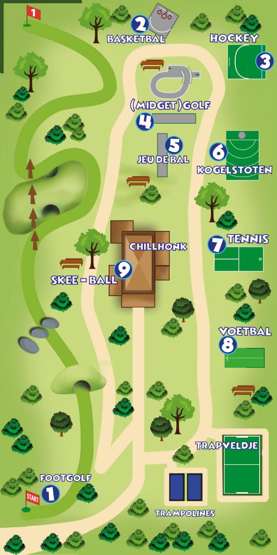Koning Bal plattegrond